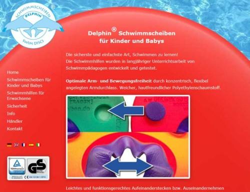 Delphin® Schwimmscheiben für Kinder und Erwachsene