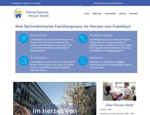Zahnarzt Florian Herdt – Frankfurt City Nähe Hauptwache