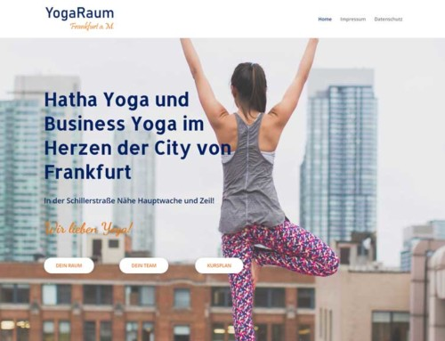 YogaRaum Frankfurt – Hatha Yoga  Business Yoga in der Frankfurter City