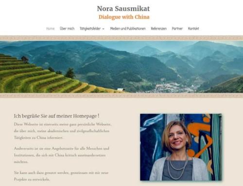 Dr. Nora Sausmikat – China Expertin