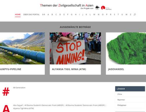 TZA-Portal – Themen der Zivilgesellschaft in Asien