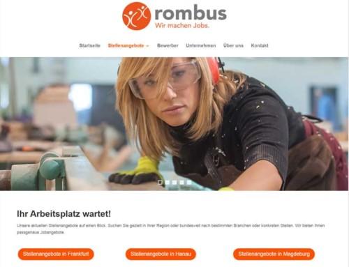 Zeitarbeit Rombus Frankfurt | Hanau | Magdeburg