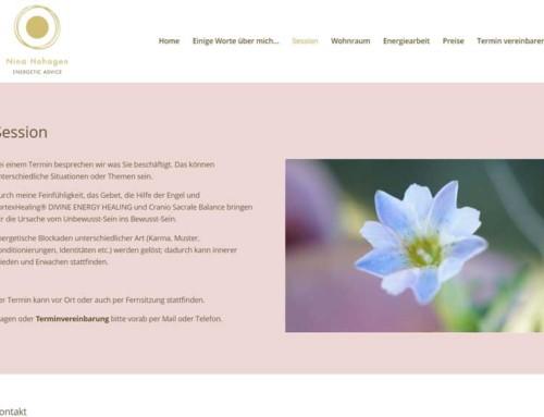 Nina Hohagen – Energiearbeit und Vortexhealing