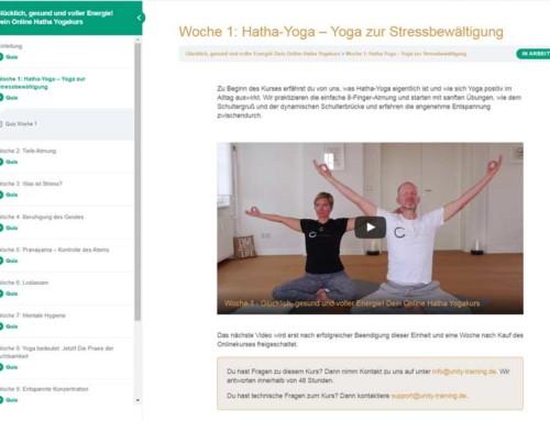 Unity Training – Krankenkassenzertifizierter Online Yoga Kurs  Kopieren