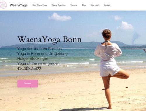 Waena Yoga Bonn – Holger Stockinger